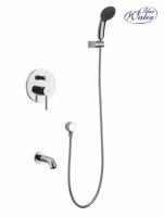 Zestaw wannowy podtynkowy z wylewką i prysznicem  <br/> DEN-ZWP.200C